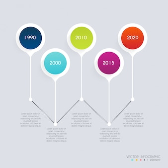 Timeline infographic design templates. diagrams and statistics for your business presentations.