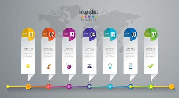 Хронология инфографики элементы