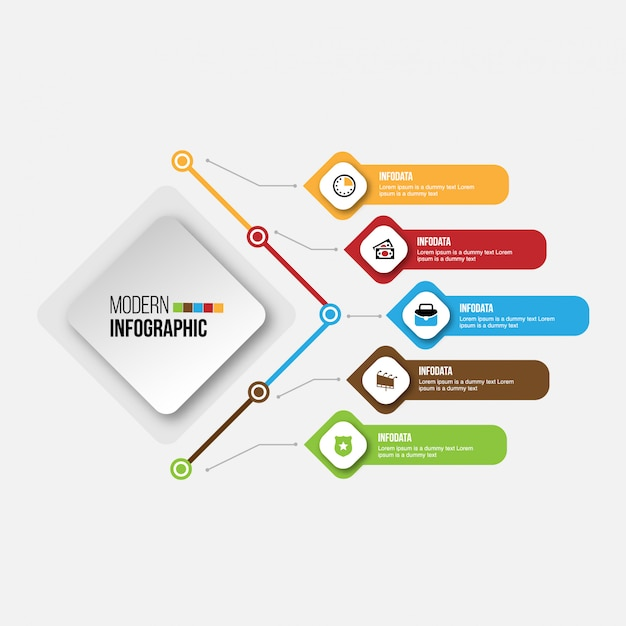 Timeline infographics design marketing icons workflow layout, diagram, annual report