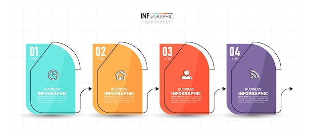 Timeline infographics design template.