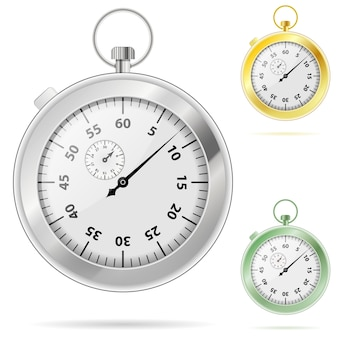 Timer chronometer in various colors