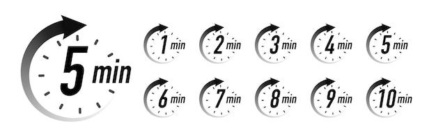 타이머 simbol 벡터 흰색 배경 시계 초시계 요리 시간에 고립 된 검은 색 스타일을 설정