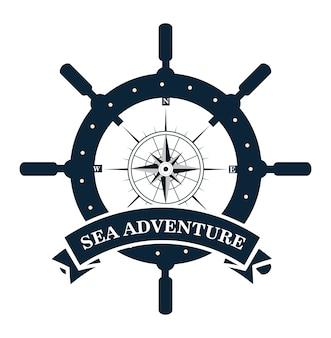 Timon ship античный значок