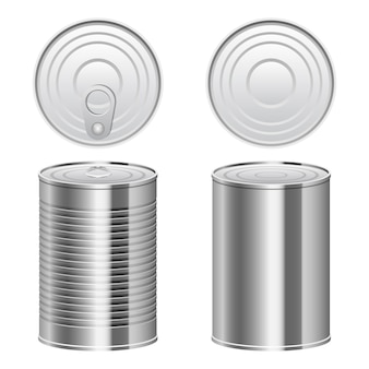 Tin can   design illustration isolated