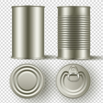 Tin can mock up