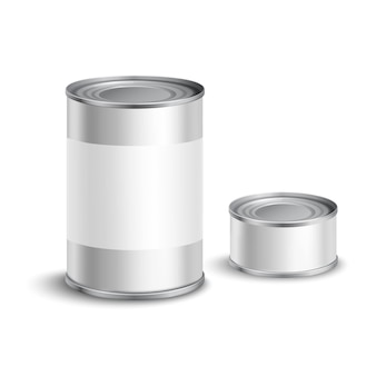 Tin can set
