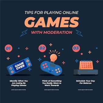 オンラインでプレイするためのヒント