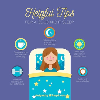 Tips for a good night sleep