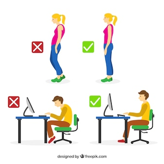 Suggerimenti per migliorare la tua postura