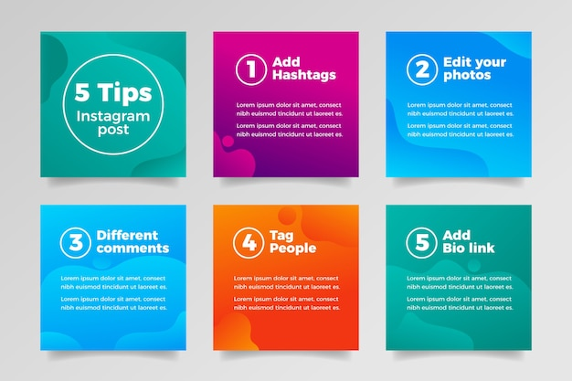 Tips instagram post collection