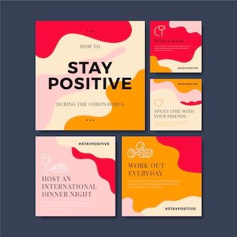 Советы о том, как оставаться положительным во время коронавируса