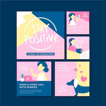 Советы о том, как сохранить позитивный пост в instagram