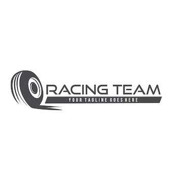 Tire logo illustration