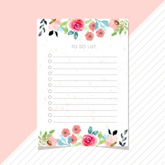 Сделать список карточек с цветочной акварельной каймой