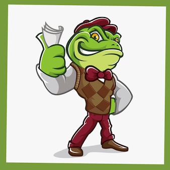 Toad frog стенд талисмана персонажей