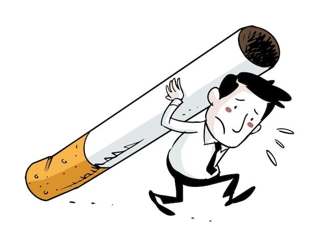 Tobacco addict