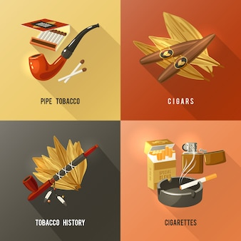 Концепция дизайна табака