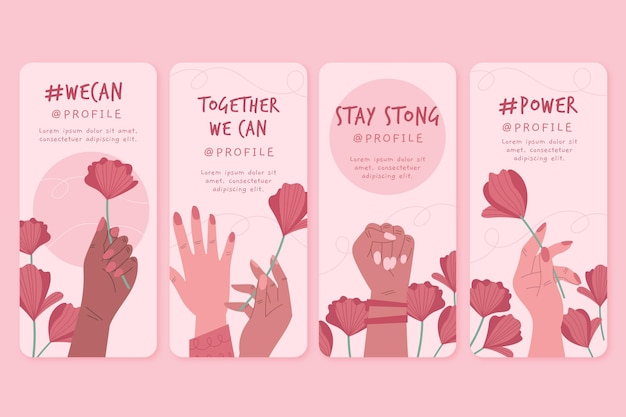 Вместе мы можем истории инстаграмм