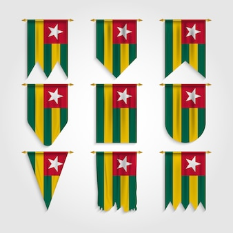 다양한 모양의 토고 국기, 다양한 모양의 토고 국기