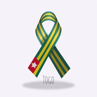 토고 국기 리본 디자인