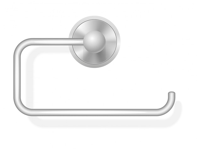 Toilet paper holder vector illustration