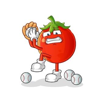 토마토 야구 투수 만화 캐릭터