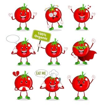 トマトのマスコット漫画