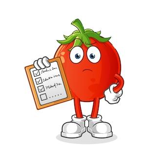 トマトマスコットスケジュールリスト