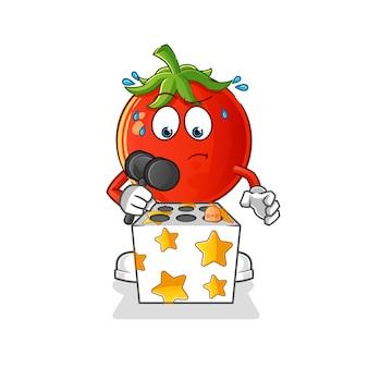 Игра с помидорами ударила талисманом крота