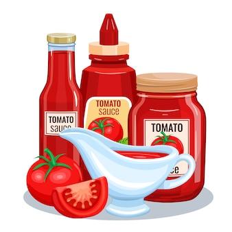 トマトソース、ケチャップ