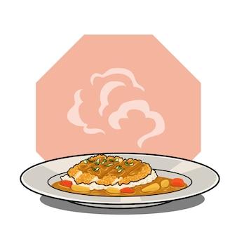 돈까스 카레 맛있는 일식