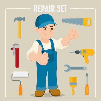 Tools for carpentry and home renovation