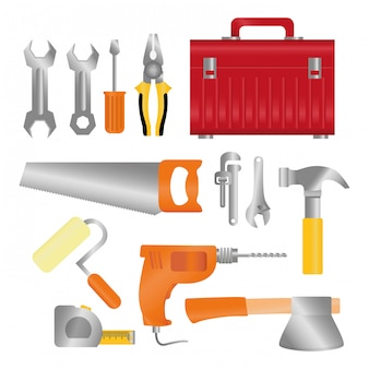 Tools design. illuistration