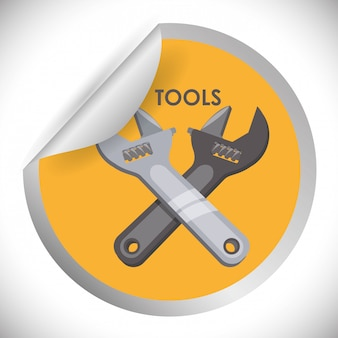 Tools icons design