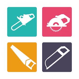 Tools icons design