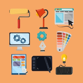 Tools for web design
