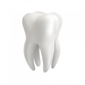 Зуб 3d иллюстрации.