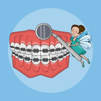 Tooth fairy and dental care