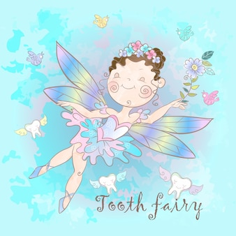 Tooth fairy is a fabulous creature