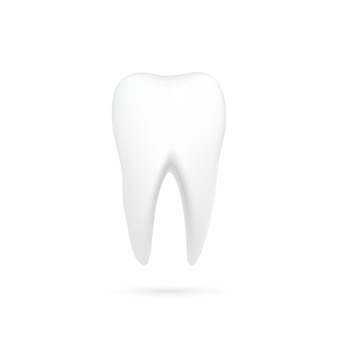 Tooth with shadow
