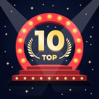 Топ-10 лучших подиумов