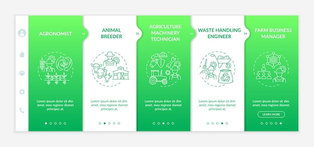 Top agriculture careers onboarding template