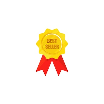 Top brand medal, best seller medal