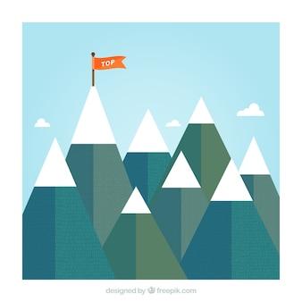 Top mountain