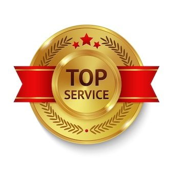 Top Service Badge