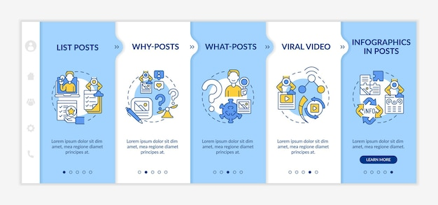 Шаблон для подключения к популярным типам публикаций