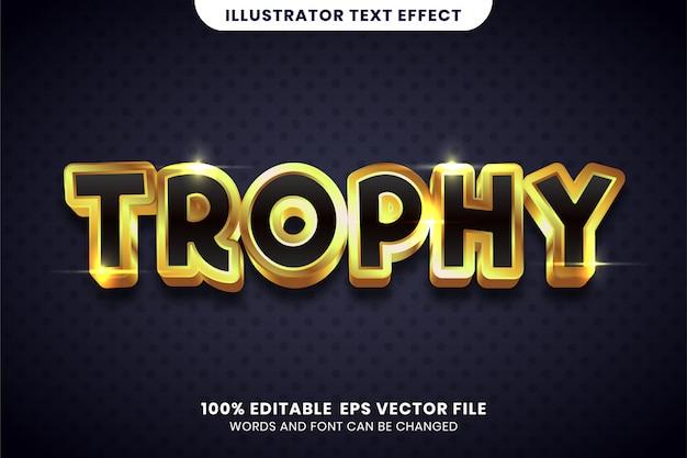 Текстовый эффект tophy