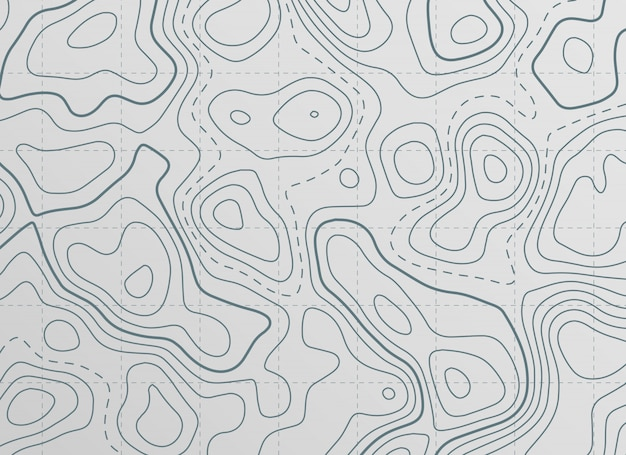 Topographic contour line map background