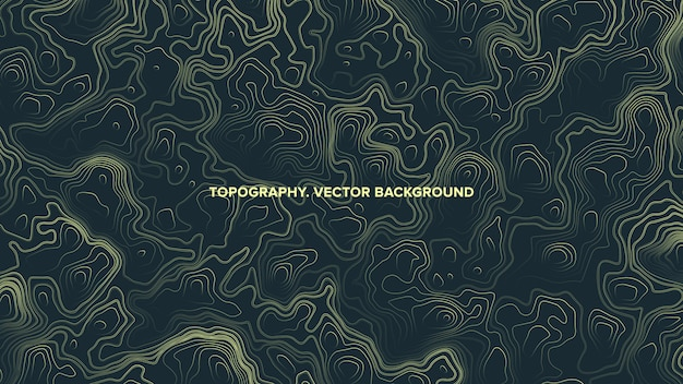 Topographic contour map relief abstract background
