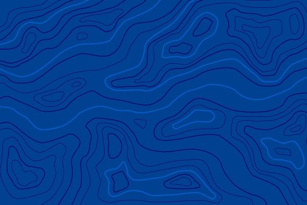 地形図の背景のコンセプト